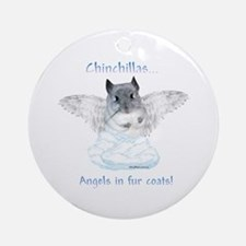Chinny Angel Ornament (Round)