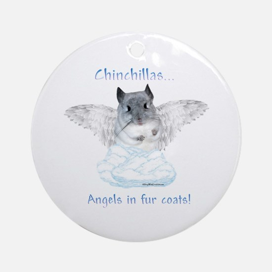 Chinny Angel Ornament (Round)