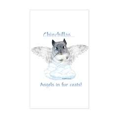 Chinny Angel Rectangle Decal