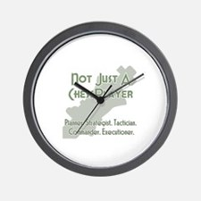 Not Just A Chessplayer Wall Clock