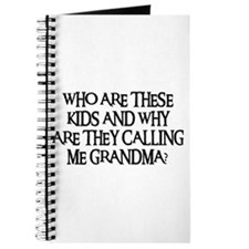 WHO ARE THESE KIDS Journal