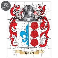 Uren Family Crest (Coat of Arms) Puzzle