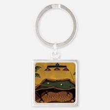 Krista Sewell - Pool Anyone Square Keychain