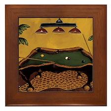 Krista Sewell - Pool Anyone Framed Tile