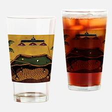 Krista Sewell - Pool Anyone Drinking Glass