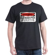 Attitude Bookkeeper T-Shirt