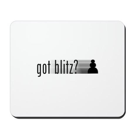 Got Blitz? Mousepad