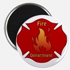 Fire Department Emblem Magnet