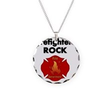 FIREFIGHTERS ROCK Necklace