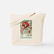 Cupids Valentine Tote Bag