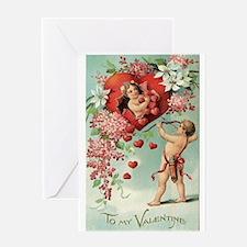 Cupids Valentine Greeting Cards