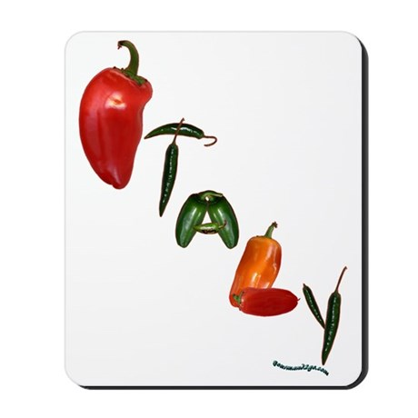 Italy Peppers Mousepad