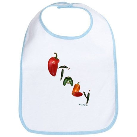Italy Peppers Bib