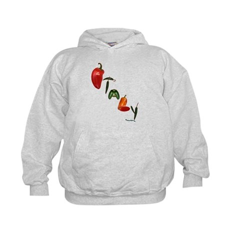 Italy Peppers Kids Hoodie