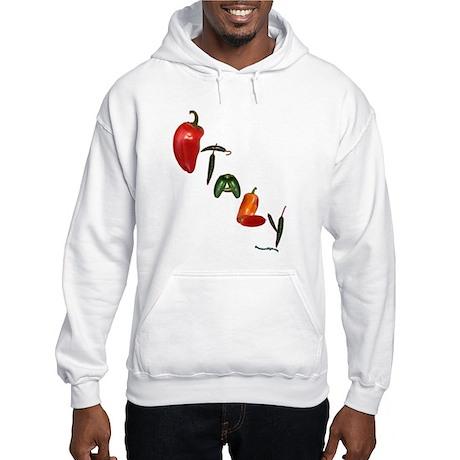 Italy Peppers Hooded Sweatshirt