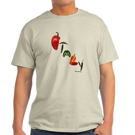 Italy Peppers Light T-Shirt
