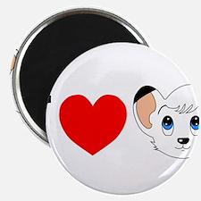 """kimba.jpg 2.25"""" Magnet (100 pack)"""