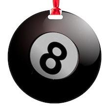 Eightball  Ornament