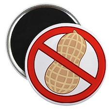 STOP. NO PEANUTS.ALLERGIES Magnet