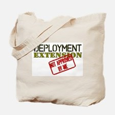 Deployment Extension Not Appr Tote Bag