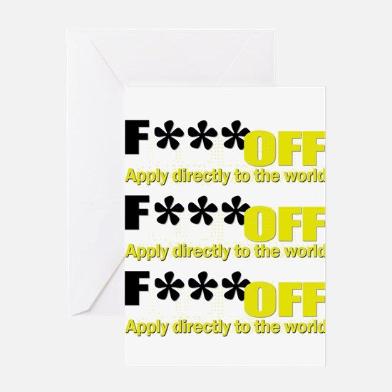 Foff Greeting Card