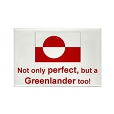 Perfect Greenlander Rectangle Magnet