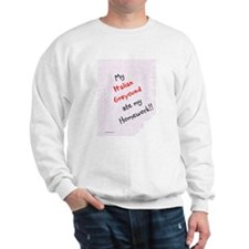 Iggy Homework Sweatshirt