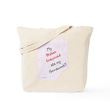 Iggy Homework Tote Bag