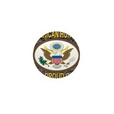 American Hunter And Proud Of It! Mini Button