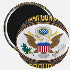 American Gun Owner And Proud Of It! Magnet