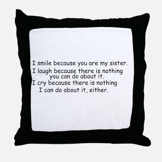 quote9.gif Throw Pillow