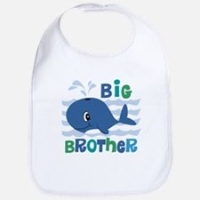 Whale Big Brother Bib