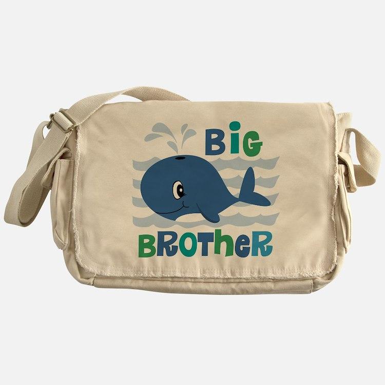Whale Big Brother Messenger Bag