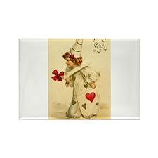 Pierrot Valentine Magnets