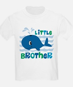 Whale Little Brother T-Shirt