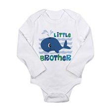 Whale Little Brother Onesie Romper Suit