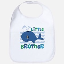 Whale Little Brother Bib