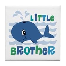 Whale Little Brother Tile Coaster
