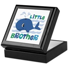 Whale Little Brother Keepsake Box