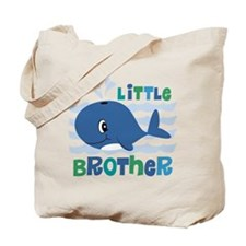 Whale Little Brother Tote Bag