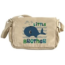 Whale Little Brother Messenger Bag