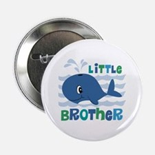 "Whale Little Brother 2.25"" Button"