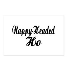 Nappy Headed Ho Fancy Design Postcards (Package of