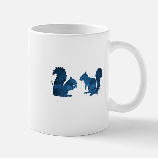 Squirrel Mugs