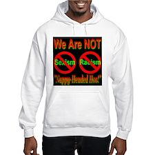 No Sexism/Racism Midnight Bla Hoodie