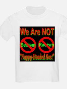 No Sexism/Racism Midnight Bla T-Shirt