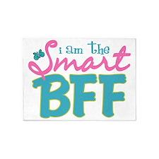 I am the Smart BFF 5'x7'Area Rug