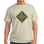 An Anam Ean T-shirt - Wht/Gry/Blu