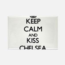 Keep Calm and kiss Chelsea Magnets
