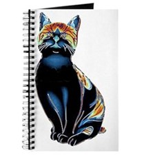 Psychedelic Solarized Kitty Journal
